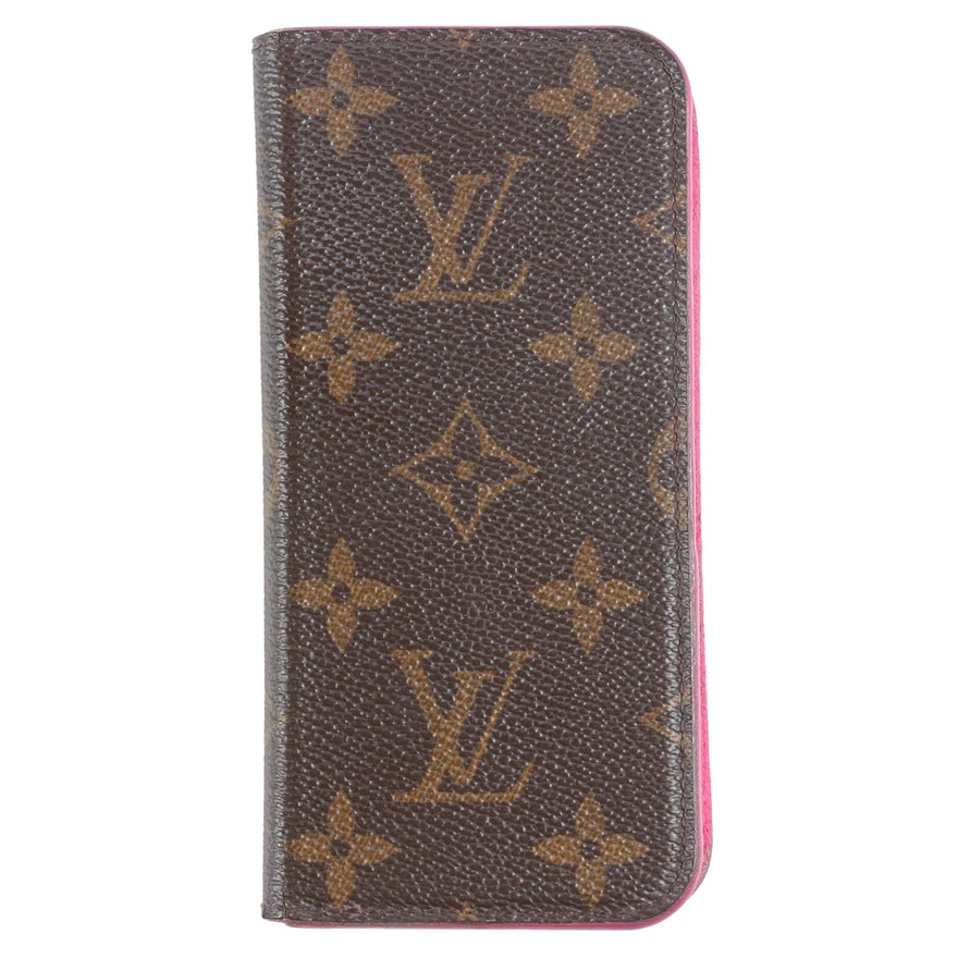 Louis Vuitton Paris Phone Case in Monogram Canvas
