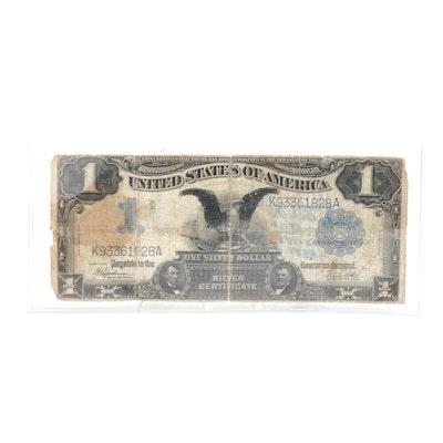 1899 Black Eagle $1 Silver Certificate