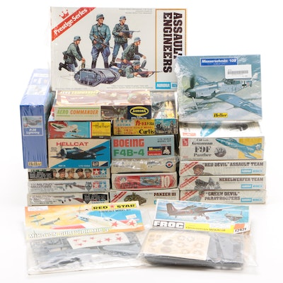 Military Model Planes, Helicopters, Land Vehicles, Weapons