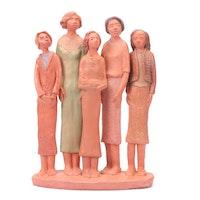Persis Jennings Figural Sculpture, 1989