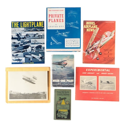 Aircraft Books and Magazine with U.S. Air Force Photographs