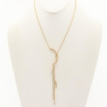 Jose Hess 18K Yellow Gold Diamond Necklace
