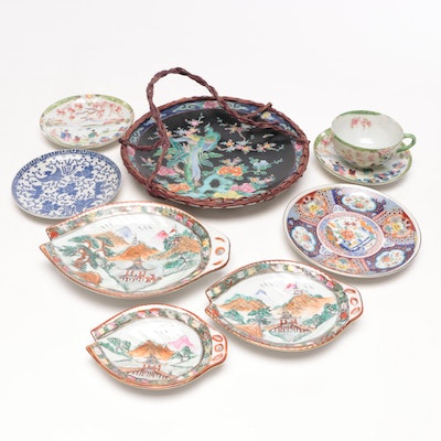 Chinese and Japanese Porcelain Dishes