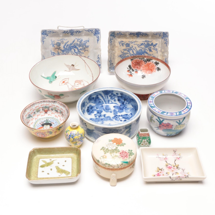 Chinese and Japanese Porcelain Decor