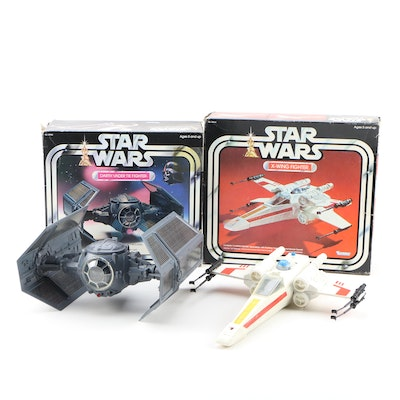 """Kenner """"Star Wars"""" Darth Vader Tie Fighter and X-Wing, 1977"""