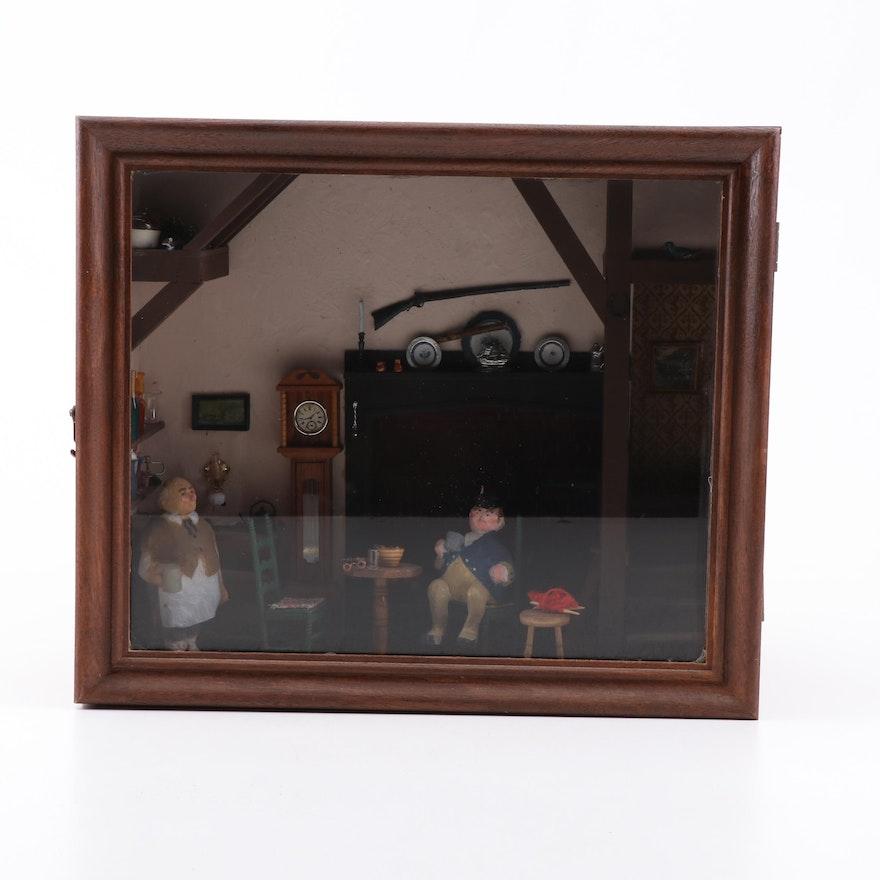 Kate Begien Miniature Living Room Set with Furniture
