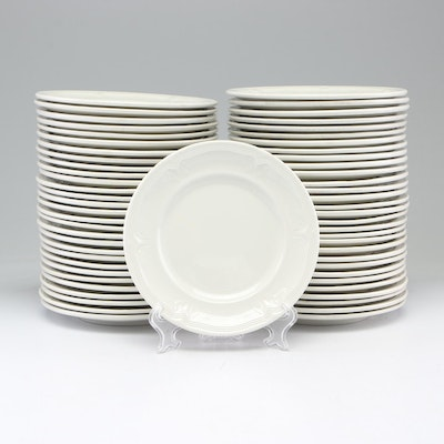 "Villeroy and Boch ""Cortina"" Pattern Group of Bread Plates"
