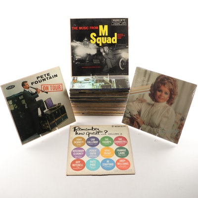 Vinyl Records Featuring M Squad, Tammy Faye Bakker and Much More