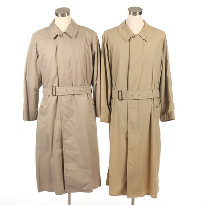 Men's Burberry Raincoats