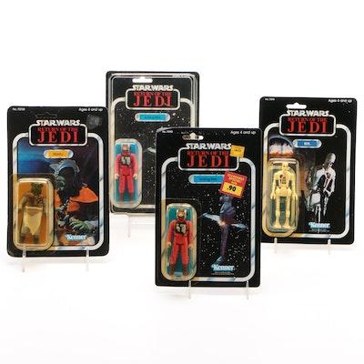 """Kenner """"Star Wars"""" Figurines in Original Sealed Packaging, 1983-1984"""