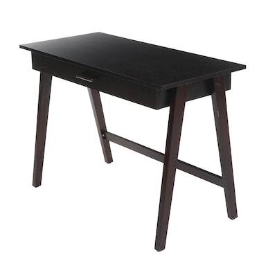 Contemporary Basic Writing Desk in Espresso