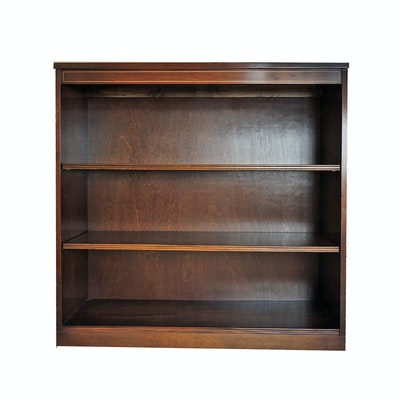 Transitional / Federal Style String-Inlaid Mahogany Bookcase