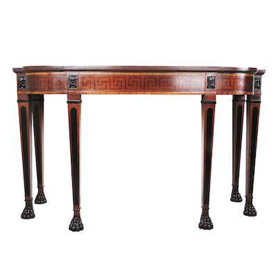 Baker Regency Style Console Table, Mid to Late 20th Century