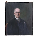 Joseph Henry Boston Oil Painting of Dr. John Hubley Schall