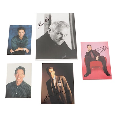Television Actor Autographed Photos