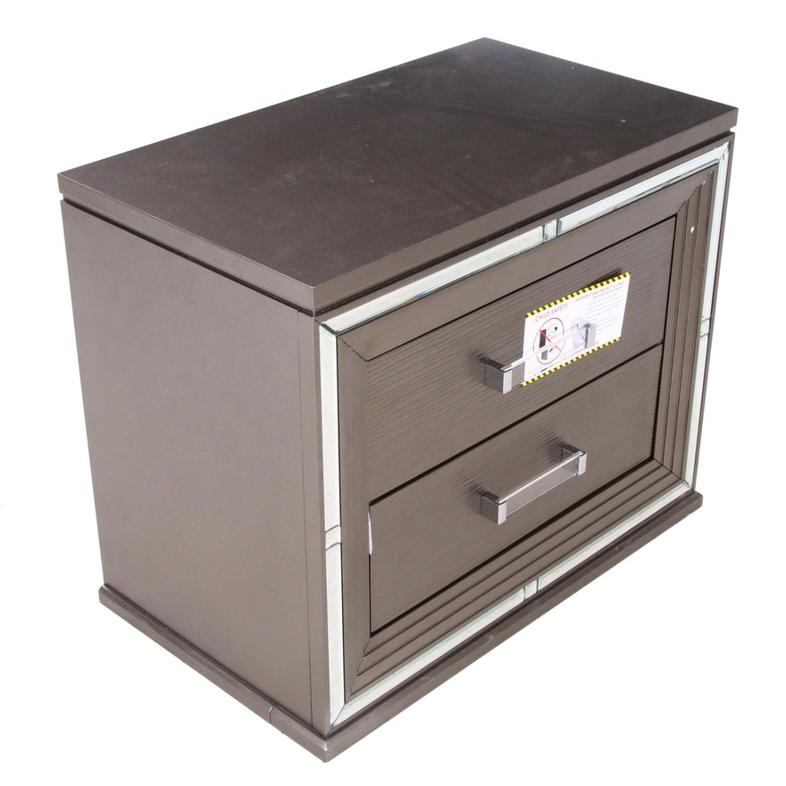 Cabinet Unit with Bronze Tone Metallic Finish