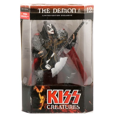 """Gene Simmons Autographed KISS """"The Demon"""" Limited Edition Doll"""
