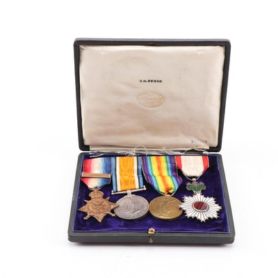 Group of WWI British Service Medals
