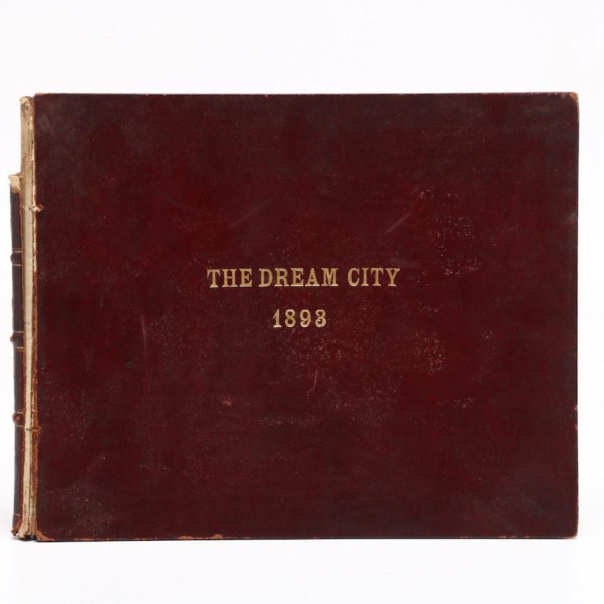 "1893 ""The Dream City"" World's Columbian Exposition Album"