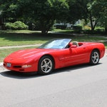 2004 Chevrolet Corvette Convertible in Magnetic Red Metallic