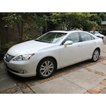 2010 Lexus ES 350 Sedan in Starfire Pearl