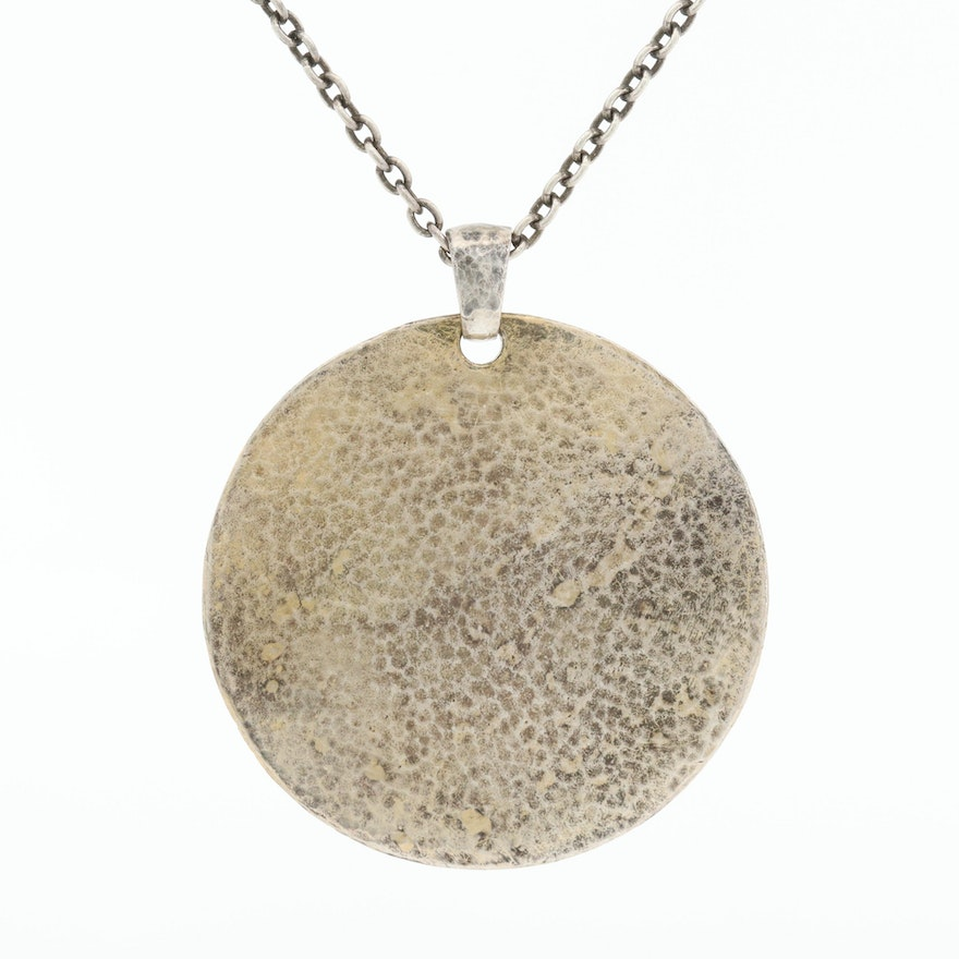Gurhan Sterling Silver Pendant Necklace