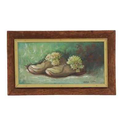 Clella Coon Still Life Oil Painting