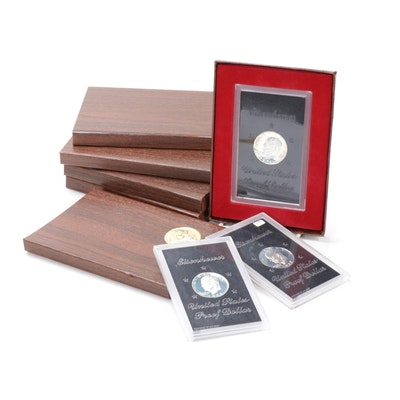 United States Eisenhower Dollar Proof Coins