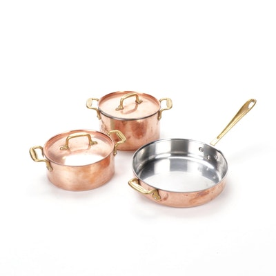 All Clad Cop-R-Chef Copper Cookware Set