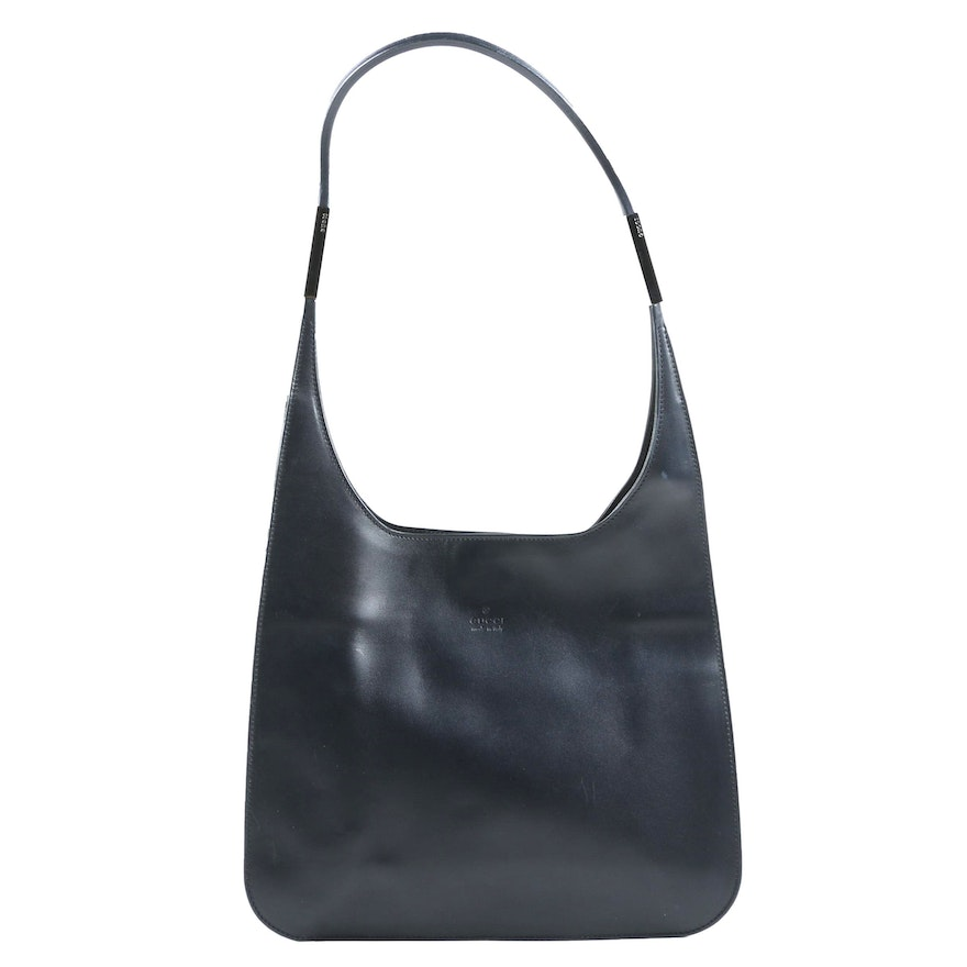 Gucci Midnight Blue Shoulder Bag, Made in Italy