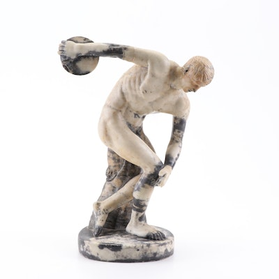 "Marble Sculpture after Myron ""Discus Thrower"""