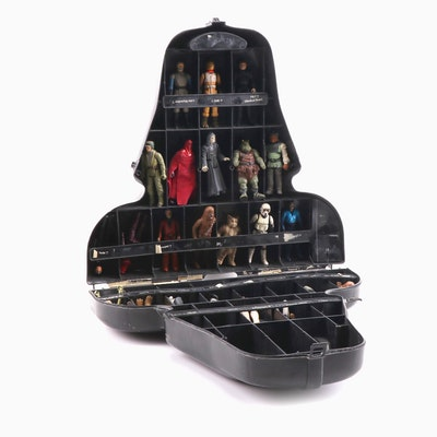 """""""Star Wars"""" Darth Vader Carrying Case with Action Figures"""