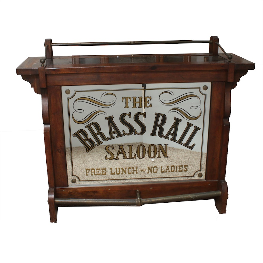 Antique-Style Saloon Bar