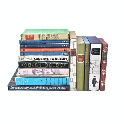 "The Folio Society Book Collection featuring ""Anna Karenina"""