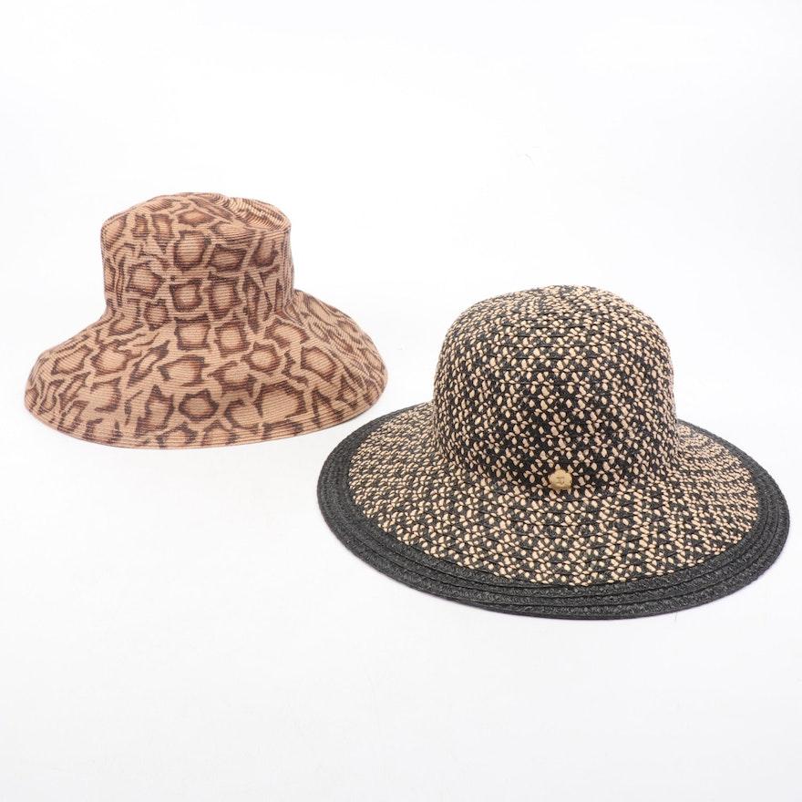 Eric Javits New York Packable Woven Sun Hats