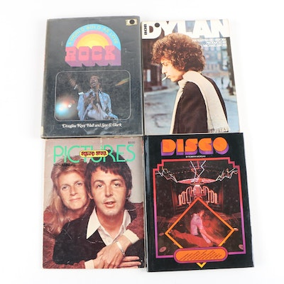 """Music Books and Rolling Stone Issue including 1979 """"Disco"""" by Roberta Morgan"""