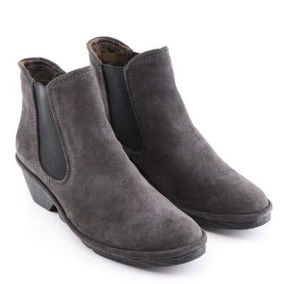 Fly London Phil Oil Suede Diesel Booties