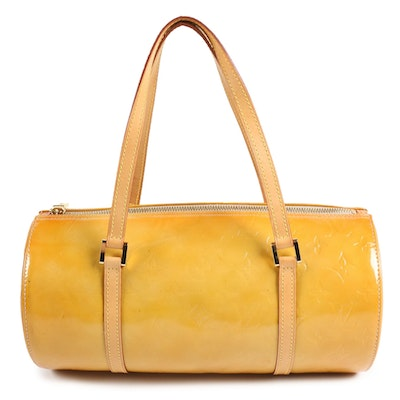 Louis Vuitton Bedford Bag in Mango Vernis Leather