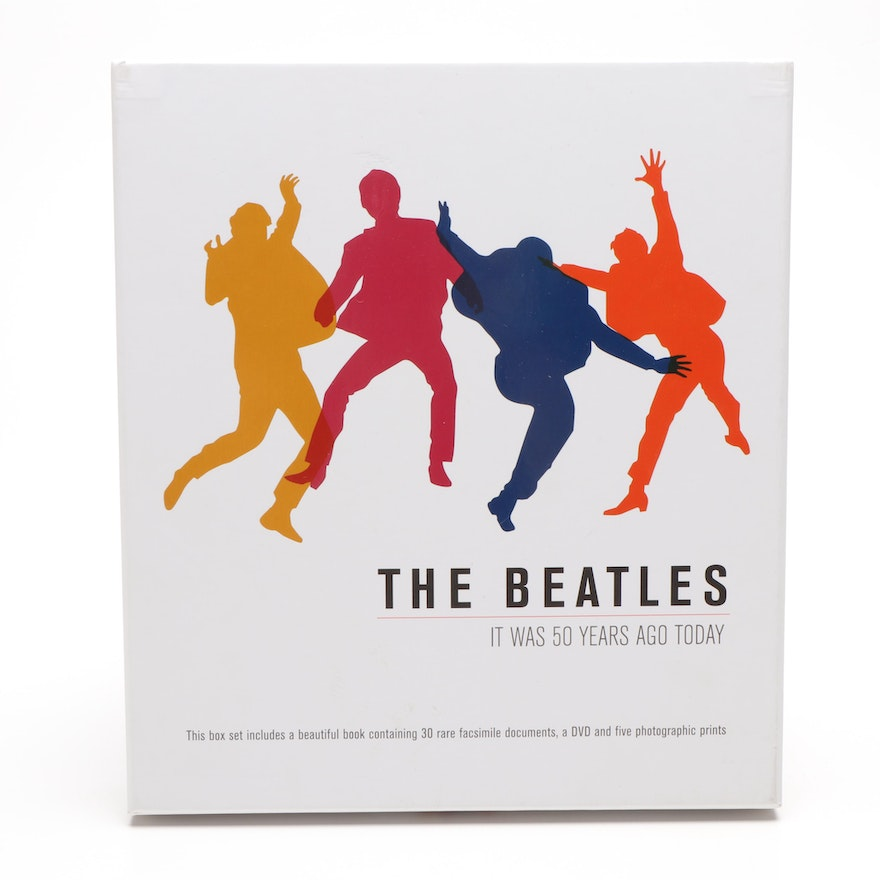 """The Beatles It Was 50 Years Ago Today"" Boxed Music Set, Contemporary"