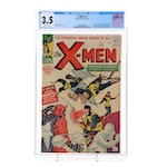 "1963 Marvel ""The X-Men"" Issue #1, CGC Graded"