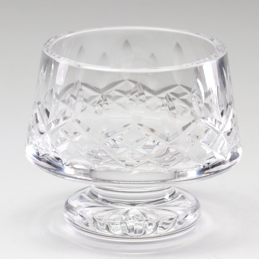 "Waterford Crystal ""Lismore"" Open Footed Sugar Bowl"