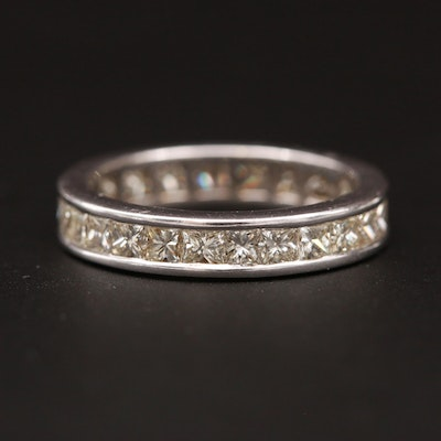 18K White Gold 2.43 CTW Diamond Eternity Band