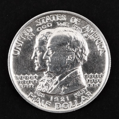 1921 Alabama Commemorative Silver Half Dollar