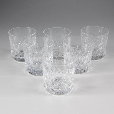 "Waterford Crystal ""Lismore"" Old Fashioned Glasses"