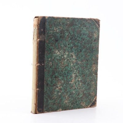 "1870 ""Punch's Almanack"" Volume 58"
