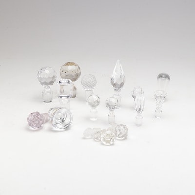 Collection of Antique & Vintage Stoppers