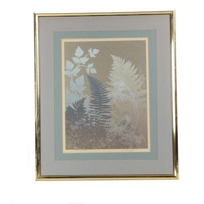 "Roger Berghoff Serigraph ""Patterns in Spring"""