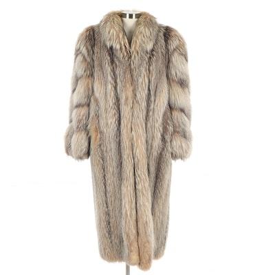 Women's Fox Fur Coat, Vintage