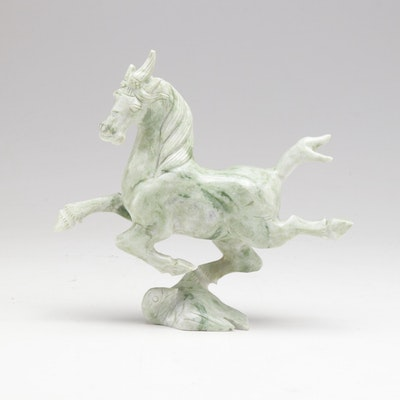 "Chinese Stone Carving After ""Flying Horse of Gansu"""