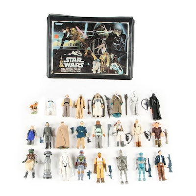 """Kenner """"Star Wars"""" Figures with Carrying Case, 1977- 1980"""